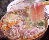 【和歌山ブランド】イノブタ「イブ美豚」しゃぶしゃぶセット 秘伝のタレ付き 16-K