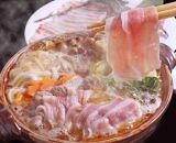 【和歌山ブランド】イノブタ「イブ美豚」しゃぶしゃぶセット 秘伝のタレ付き 16-L