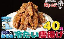 居酒屋ひょっとこ 福岡の新名物「冷たい唐揚げ」冷やし手羽40本