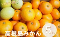 こだわり栽培 高根島みかん 5kgレモン3個入り