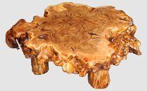 【14】座卓(テーブル)かしわなら・一枚天板【厚さ約12cm】