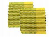 ウージ染め手織りコースターヤシラミ織り2枚セット
