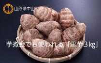 【2021年度産先行受付】芋煮会でも使われる「里芋3㎏」