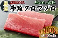 奄美大島産養殖クロマグロ(2柵セット)