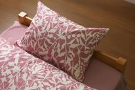 ののすて 花衣 掛け布団カバー(シングルサイズ)とピロケースのセット【ピンク】