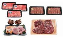 【鹿児島県さつま町】地元の美味しいお肉をお届け!セット―満足コース―(定期便全4回)