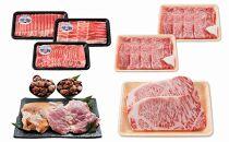 【鹿児島県さつま町】地元の美味しいお肉をお届け!セット―大満足コース―(定期便全4回)