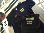 紀州戦国屋オリジナル・紀州九度山真田昌幸セット(黒)<Tシャツサイズ:S>