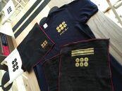 紀州戦国屋オリジナル・紀州九度山真田昌幸セット(黒)<Tシャツサイズ:L>