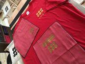紀州戦国屋オリジナル・紀州九度山真田幸村セット(赤)<Tシャツサイズ:XS>