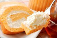 高級卵蘭王の黄金ロールケーキ&大分県産牛乳の湯の香プリン