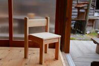 丹波篠山市産桧のこども椅子
