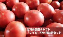 佐賀井農園のトマト「レイカ」4kg箱詰めセット