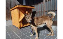 KS002 高知県産杉の犬小屋・中型犬コース