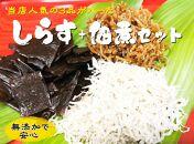 【愛知県産】しらす・佃煮セット