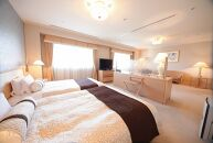 沼津リバーサイドホテル デラックスツインルーム 1泊朝食付 ホテルペア宿泊券