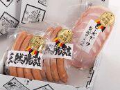 お肉屋さんの手造りハム&ウインナー食べ比べセットBセット【肉のイイジマ】