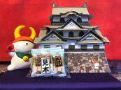ひこにゃん貯金箱(細目)&彦根城ペーパークラフト(クッキー付き)