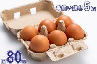 平飼い鶏卵5kg