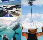 宮古島に来たら 前浜ビーチでefoilsを体験しよう!15分(4,200点クーポン)