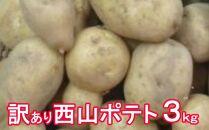 TA010【訳あり】西山ポテト3kg