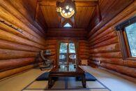 八丁の湯・山里の八丁の湯・山里の季節を愉しむ口福プランログハウス和室3名様一室ご利用(1泊・2食付き)