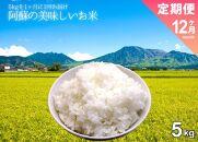 令和3年度 阿蘇の美味しいお米定期便 5kg×12ヶ月