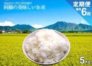 令和3年度 阿蘇の美味しいお米定期便 5kg×隔月【計6回】