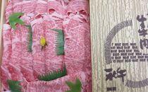 冷凍発送☆阿波黒毛和牛すき焼き用約1㎏【MM-09】