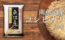 南魚沼産コシヒカリ玄米5kg