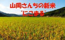 """A074道の駅からり直送! 山岡さんちの新米""""にこまる""""10kg【80pt】"""