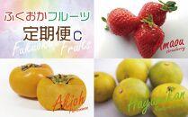 ふくおかフルーツ定期便【全3回】C