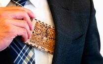 徳島県産木材を使用したMDF製名刺ケース(徳島県Ver)【NE-03】
