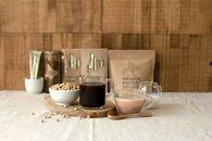 北海道とよみずき大豆コーヒー&深煎りきな粉ラテセット(「かみかわ大豆コーヒードリップバッグ付き」)