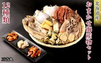 AS037【北海道産】豪華12種類!おまかせ海産物セット