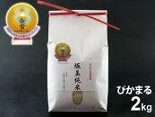令和3年産極美純米ぴかまる2kgスパルタ農法こだわりのお米