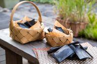 ロハスな山の竹炭