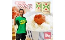 令和3年産【精米】つや姫10kg(5kg×2袋) 農家直送・鳥海山麓やわたの米<平良農園>