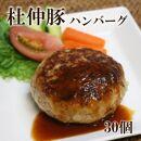 「大仙市産杜仲豚ハンバーグ30個」長沼商店