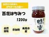 ◆限定◆【美馬市産】日本みつばち<百花はちみつ>1200g