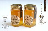 滋賀県彦根産日本みつばちのハチミツ2本セット