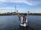 霞ヶ浦ダンディー村川勇介と行く霞ヶ浦ボートフィシング体験チケット(2名様分)半日コース