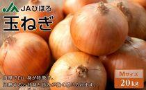 【訳あり】北海道JAびほろ 玉ねぎMサイズ 20kg