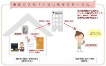 ~離れて暮らすご家族をそっと見守る~東京ガスの「くらし見守りサービス(ご家族)」(1年間)