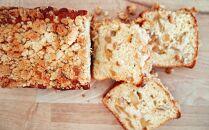《黒豆珈琲とチョコ&りんごのクランブル》パウンドケーキセット