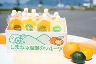 そのまんま100%柑橘冷凍ジュース詰合せ  12本入り