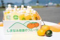 そのまんま100%柑橘冷凍ジュース詰合せ  18本入り