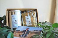 店主おすすめコーヒーギフト缶(粉:200g×1缶)+ドリップパック(10g×5袋)