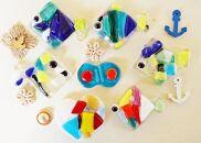 自分でキレイなガラスの熱帯魚が簡単に作れて楽しい! 沖縄ガラスキッズ体験