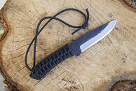 黒両刃パラコード巻き作業刀